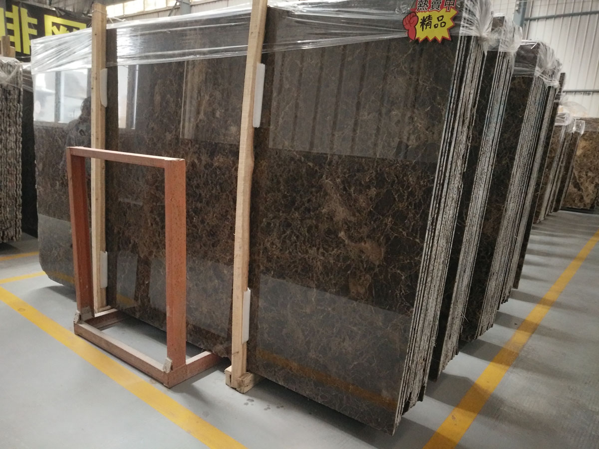Spain Dark Emperador Marble Slabs