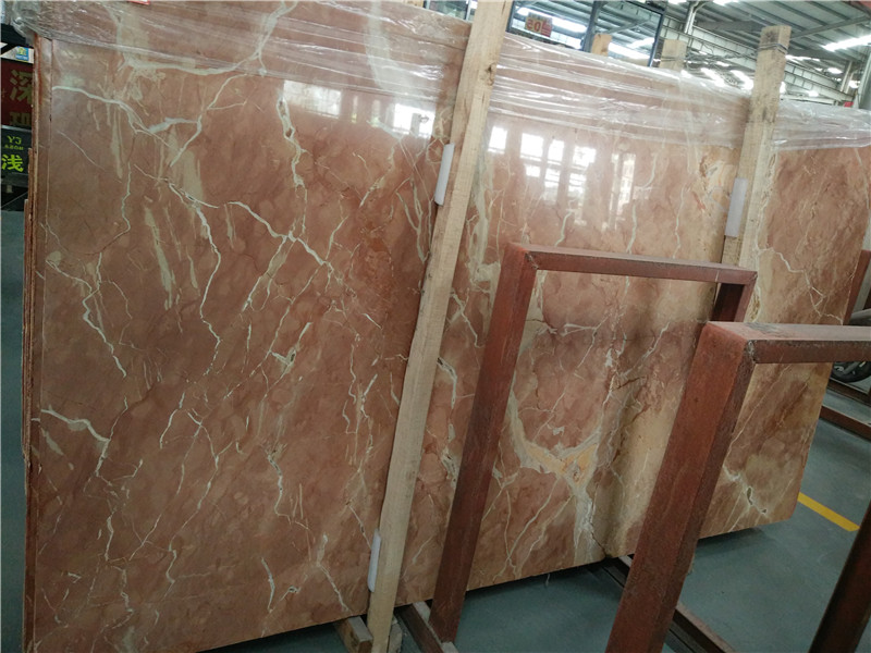 Spain Rojo Alcante Marble Slabs Red Polished Marble Slabs