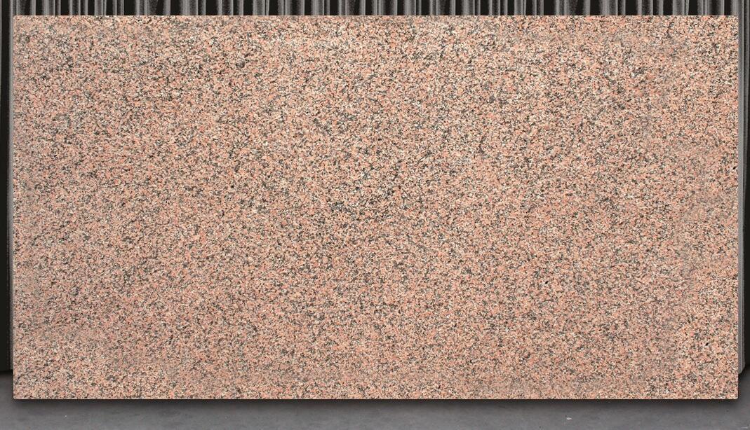 Spain Rosa Porrido Granite Slabs Polished Red Granite Stone Slabs