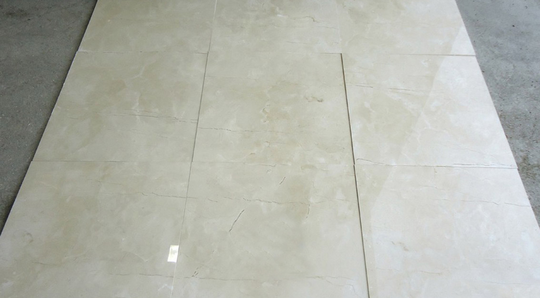 Spain Stone Marble Crema Marfil Tiles Polished Beige Marble Stone Tiles