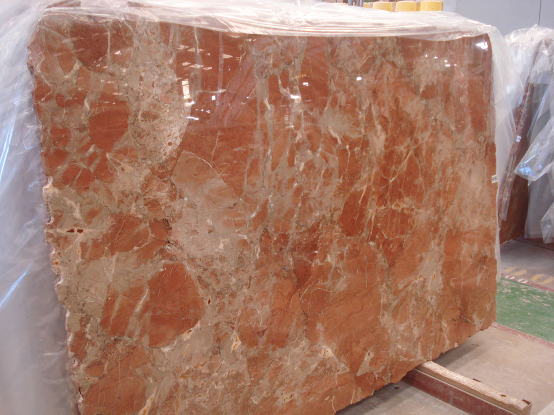 Spanish Red Marble Rojo Coralito Marble Polished Slabs