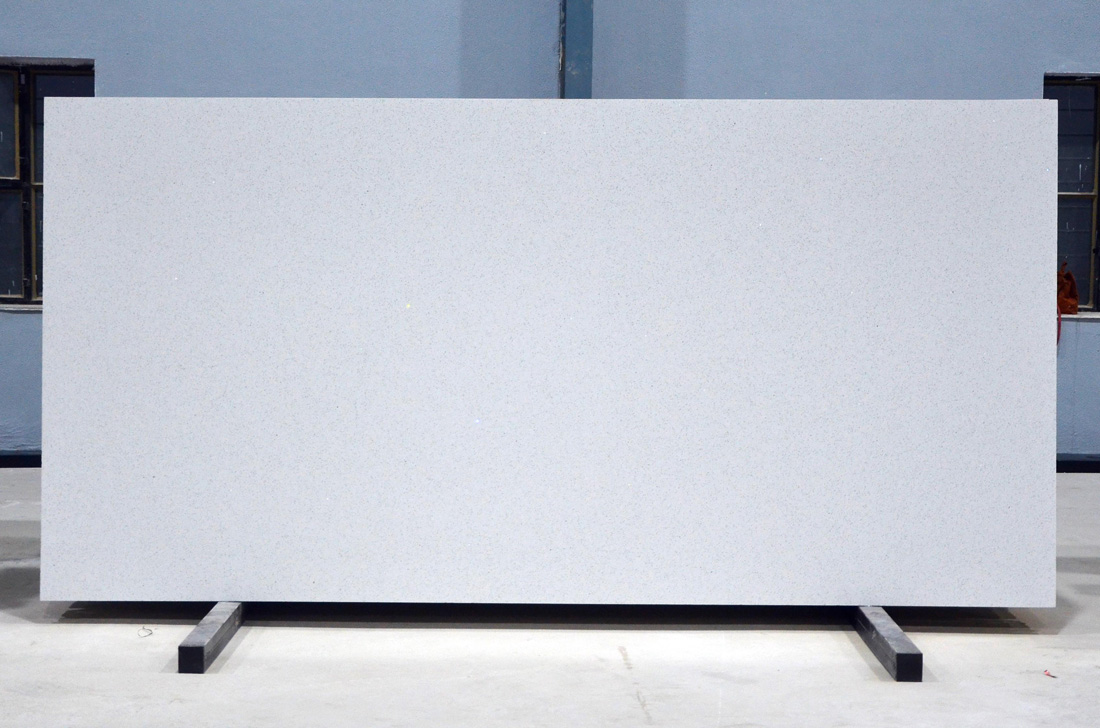 Sparkling White Quartz Slabs