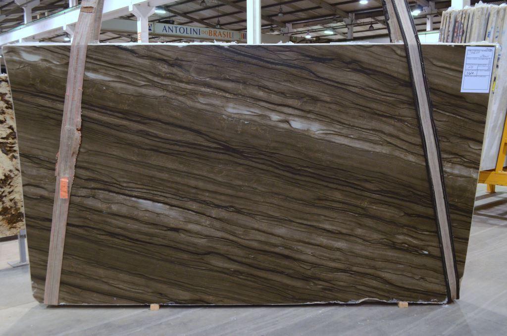 Spicewood Sequoia Brown Leather Quartzite Slabs