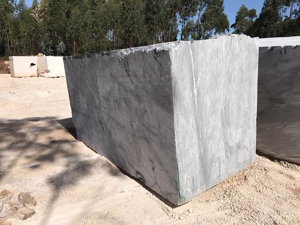 Spider Black Marble Blocks from Portugal