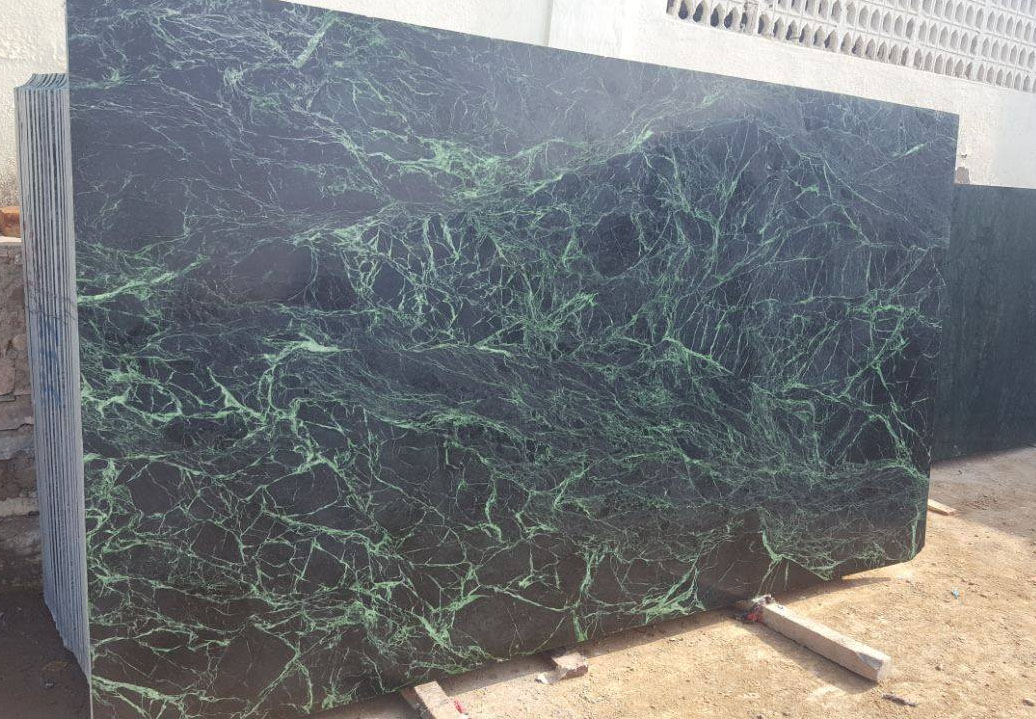 Spider Green Marble Slabs Indian Marble Slabs