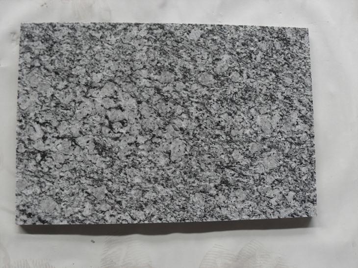 Spray White Granite Tiles High Quality Granite Polished Tiles