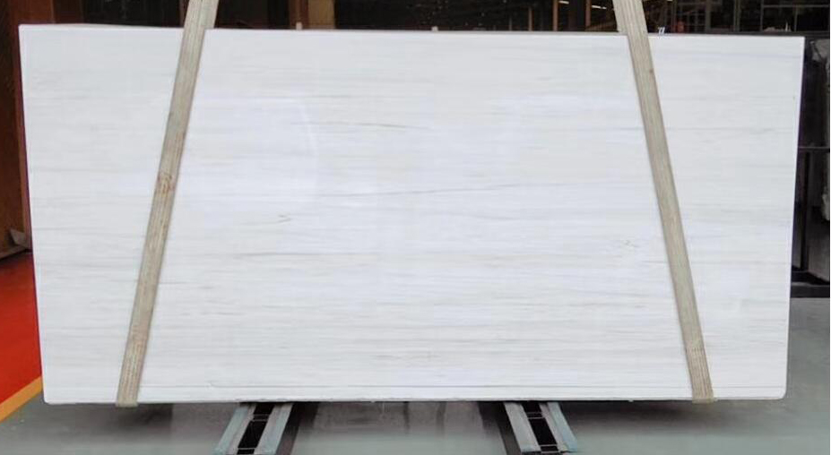 Star White Marble Slabs Polished White Marble Stone Slabs