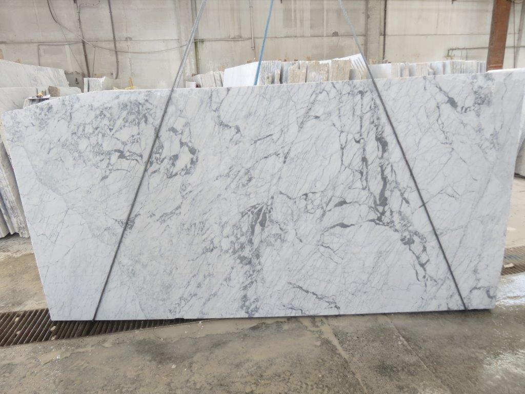 Statuarieto Slab Italian White Marble Slabs with Top Quality