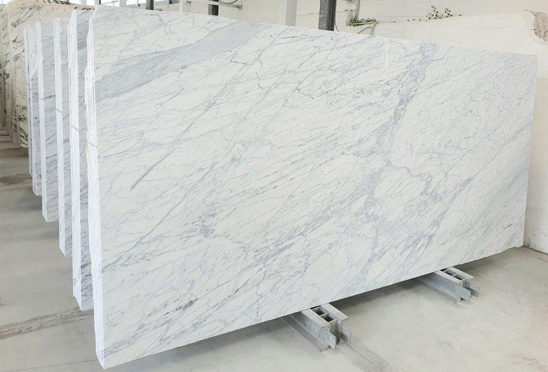 Statuarietto Marble Slabs Polished Italian White Marble Slabs