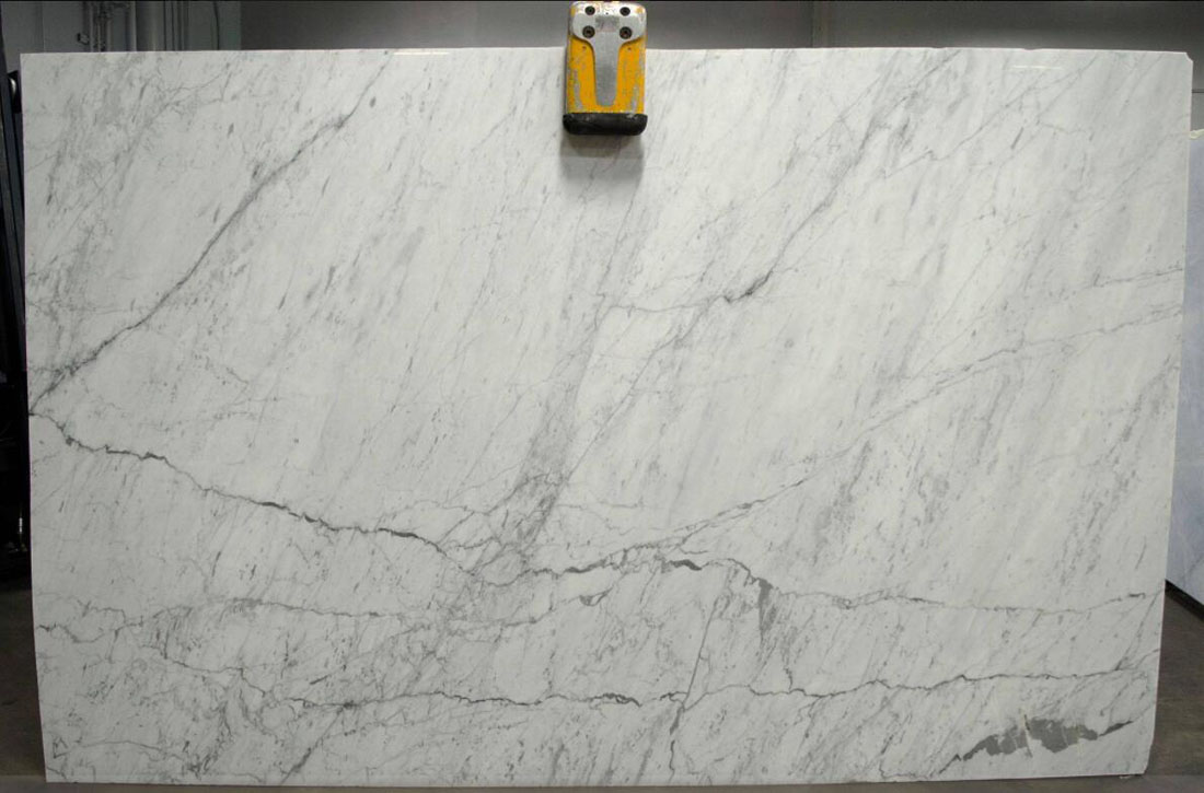 Statuarietto Polished White Italian Marble Slabs