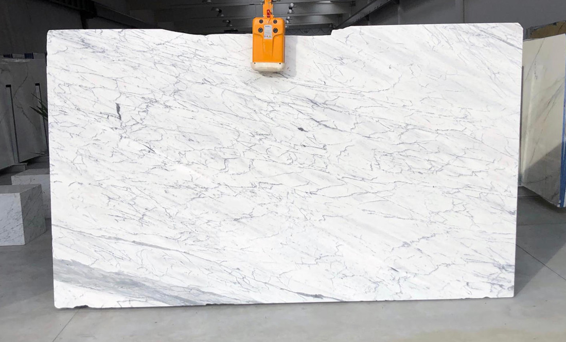 Statuarietto Slabs White Polished Marble Slabs