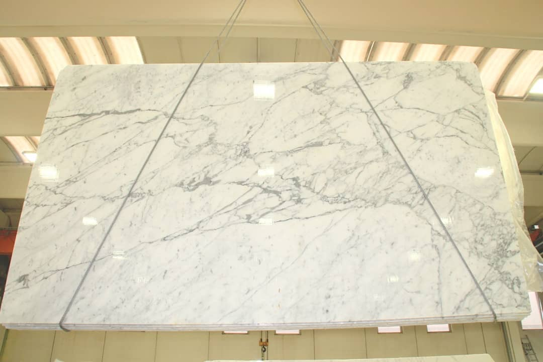 Statuarietto White Marble Polished Slabs from Italy