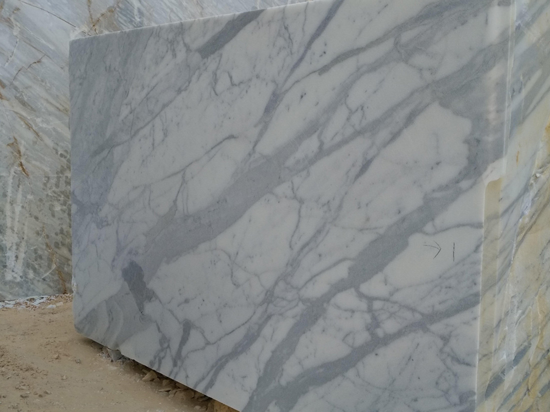 Statuario Belgia Marble Blocks Italian White Marble Blocks
