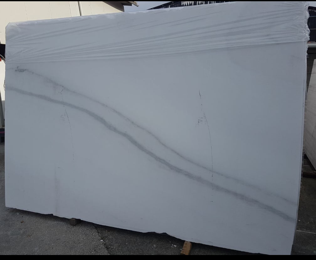Statuario CL White Polished Marble Slabs