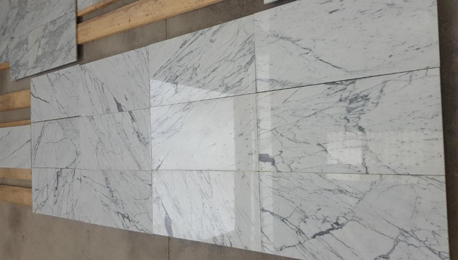 Statuario Marble Tiles Polished Italian White Marble Tiles