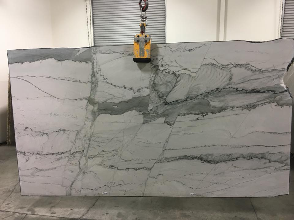 Statuario Quartzite Polished Polished White Quartzite Slabs