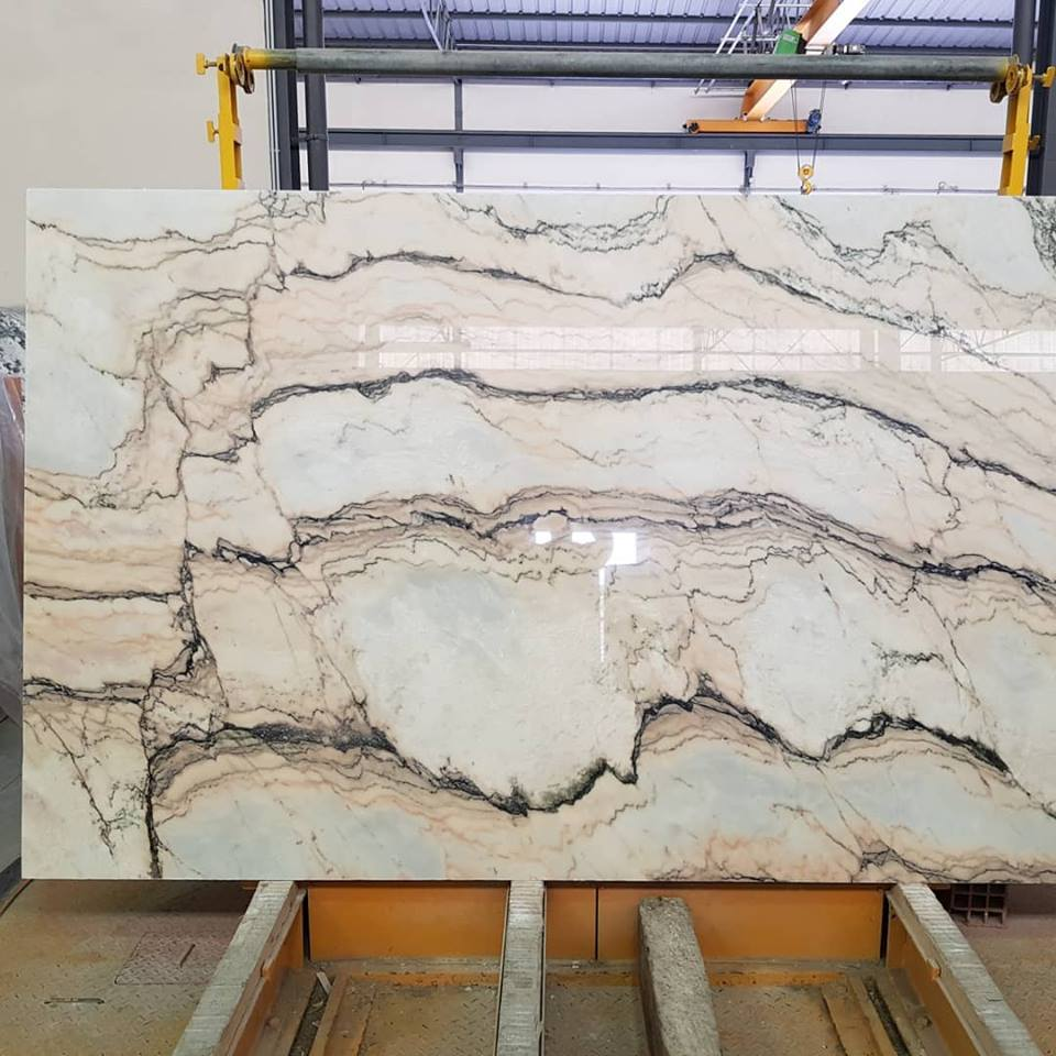 Statuario Rosso Marble Slabs Potugal Marble Slabs