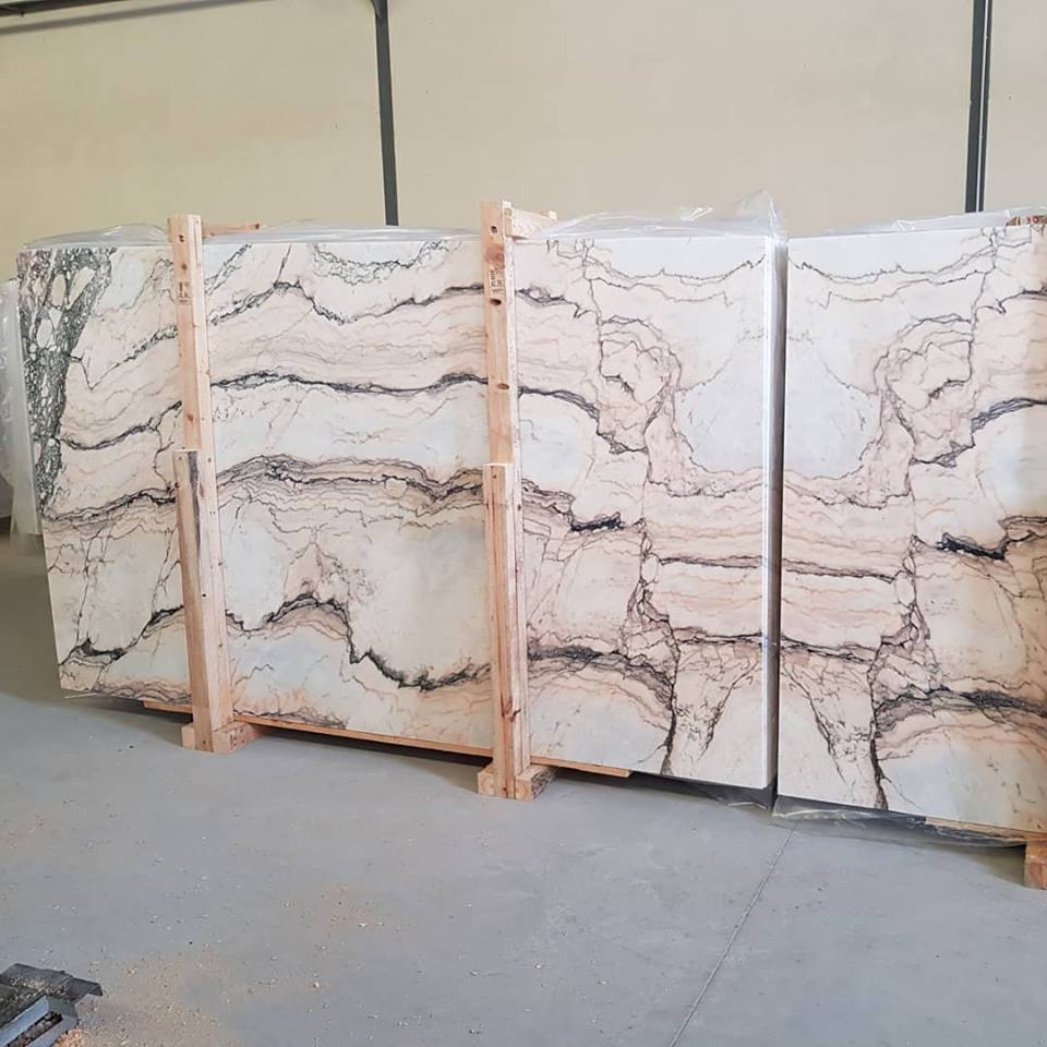 Statuario Rosso Slabs Marble Polished Slabs