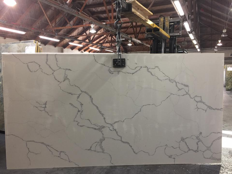 Statuario Venato Slab Quartz