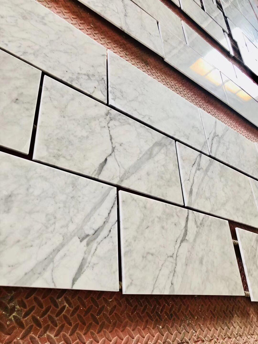 Statuario White Marble Wall Cladding
