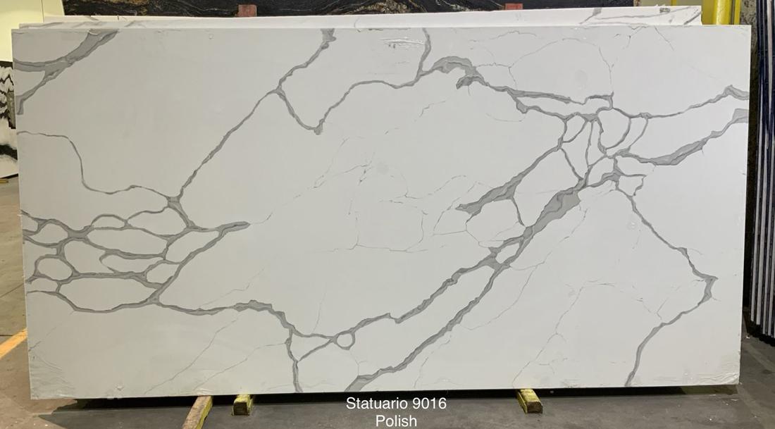 Statuario White Quartz Stone Slabs Competitive White Quartz Slabs