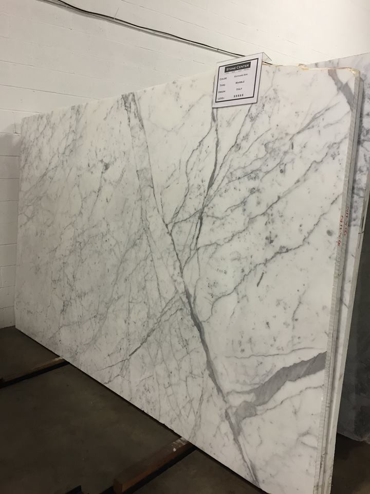 Statuary Marble Slabs White Polished Marble Slabs
