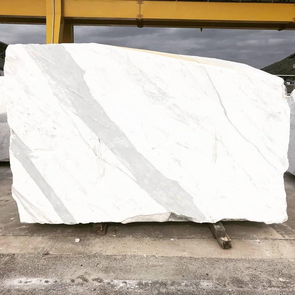 Statuary White Marble Blocks from Italy