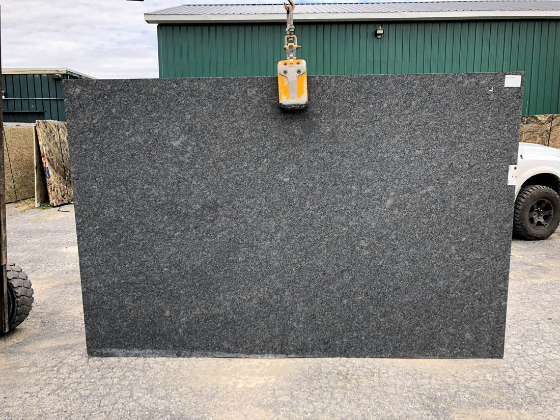 Steel Gray Granite Slabs Honed Slabs from India
