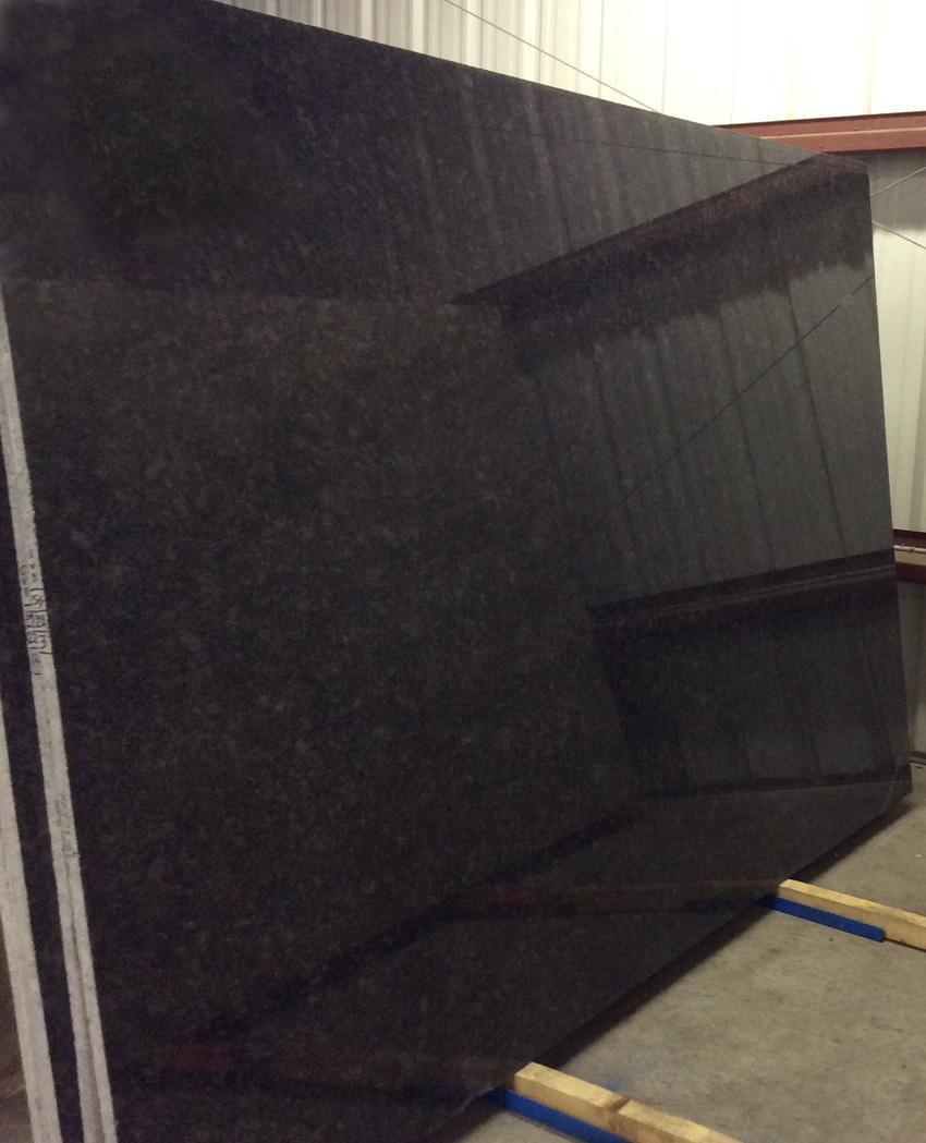 Steel Grey Granite Slabs Indian Polished Granite Slabs for Countertops