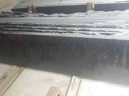 Steel Grey Granite Slabs Polished Granite Slabs for Countertops