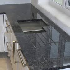 Steel Grey Polished Granite Countertops