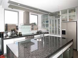 Steel Grey Stone Polished Grey Granite Kitchen Countertops