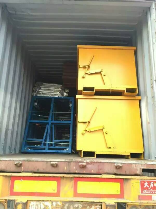 Stone Handling Equipments in Container