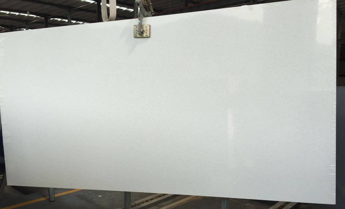 Stone Quartz White Slabs for Kitchens