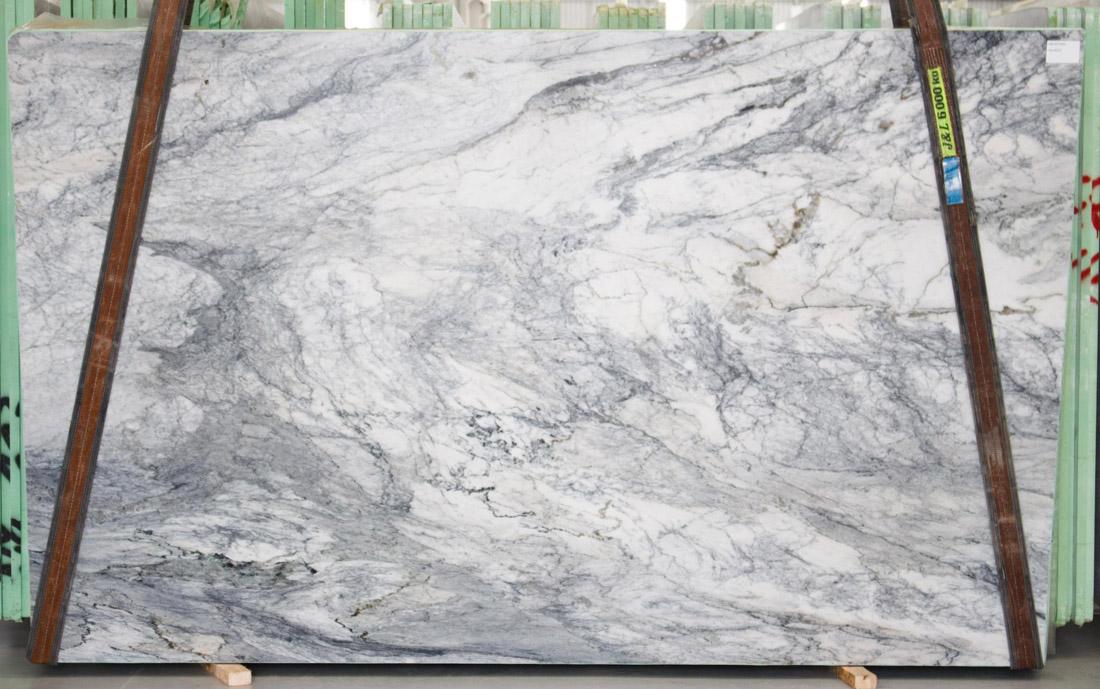 Storm Wave Quartzite Stone Slabs Brazil Natural White Quzrtzite Slabs