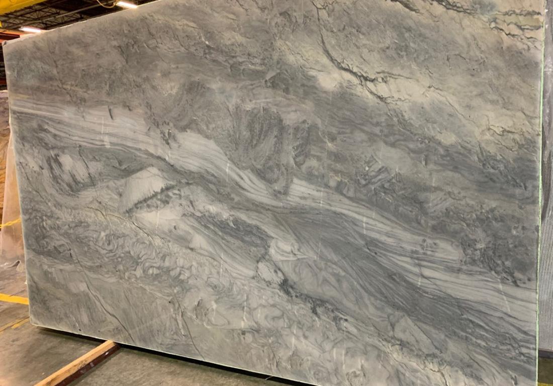 Stormy Sea Quartzite Slab Polished Blue Quartzite Stone Slabs