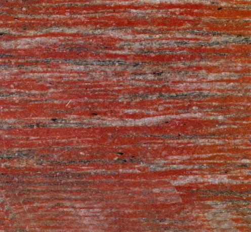 Striped Red Granite