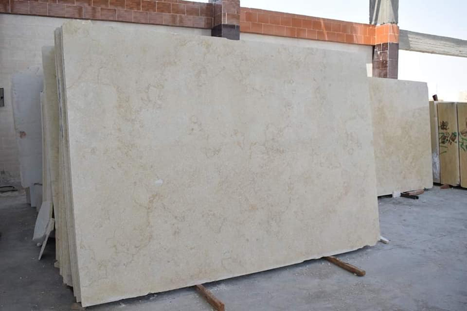 Sunny Light Marble Slabs Beige Egyptian Marble Slabs