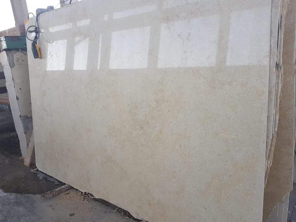 Sunny Light Marble Slabs Polished Marble Slabs
