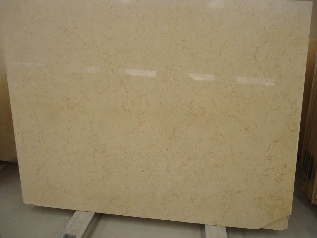 Sunny Light Yellow Egyptian Marble Slabs