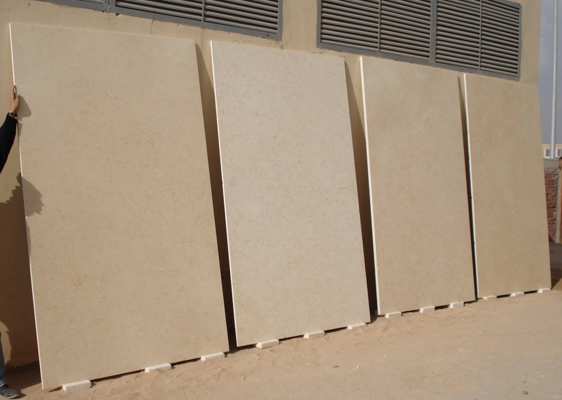Sunny Marble Slabs Yellow Marble Slabs from Egypt