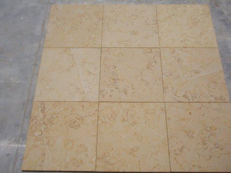 Sunny Marble Yellow Egyptian Marble Tiles for Flooring