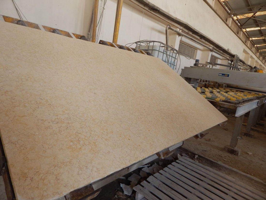Sunny Medium Marble Beige Egyptian Marble Slabs with High Quality