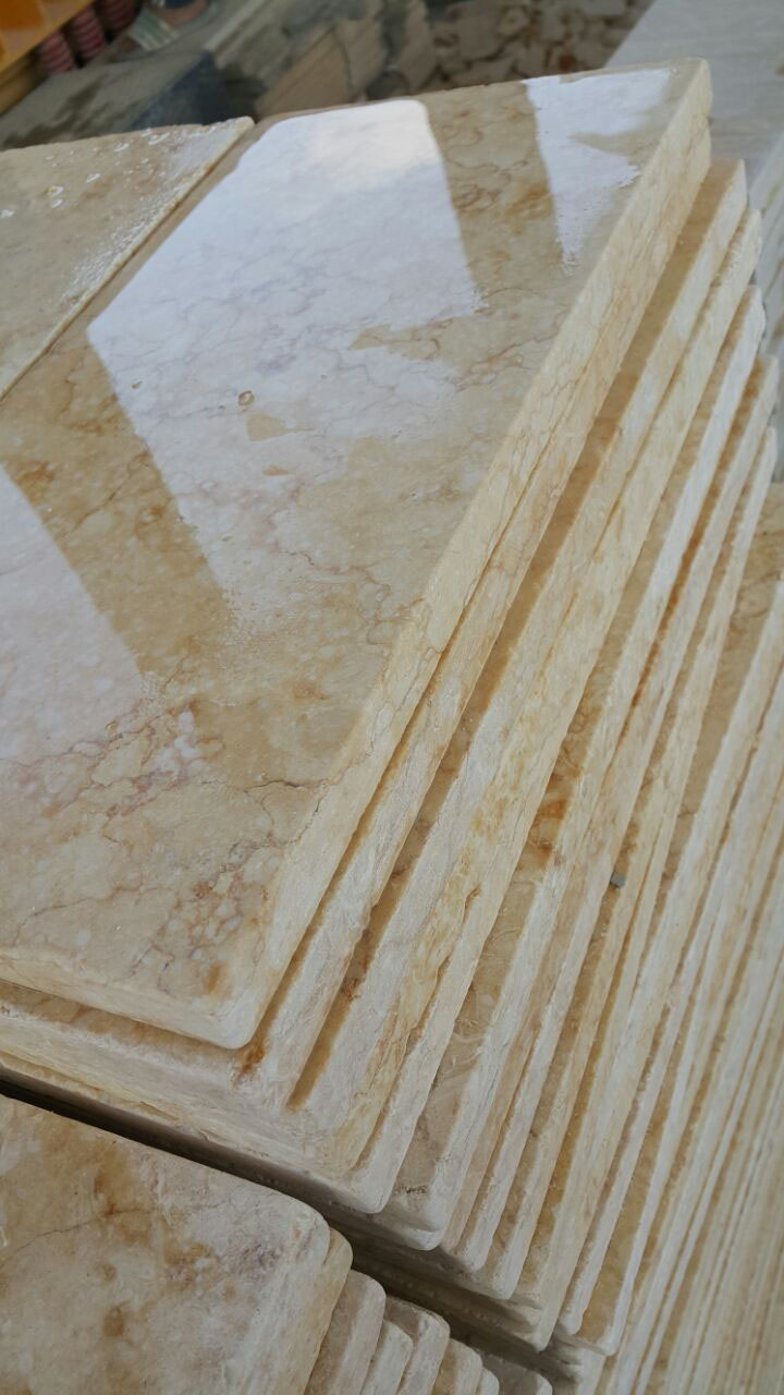 Sunny Tumbled Marble Tiles