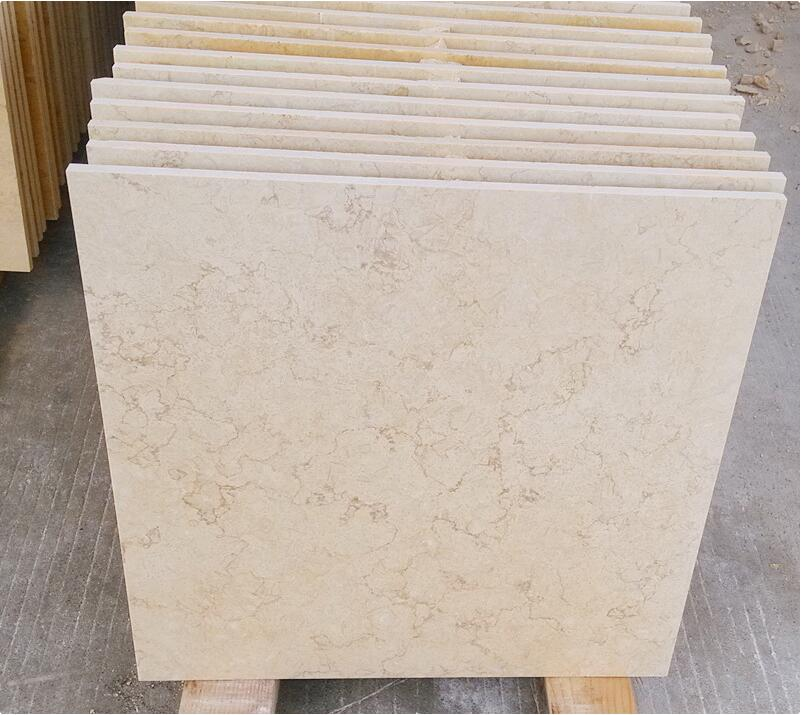 Sunny Yellow Flooring Tiles Egyptian Competitive Marble Stone Tiles