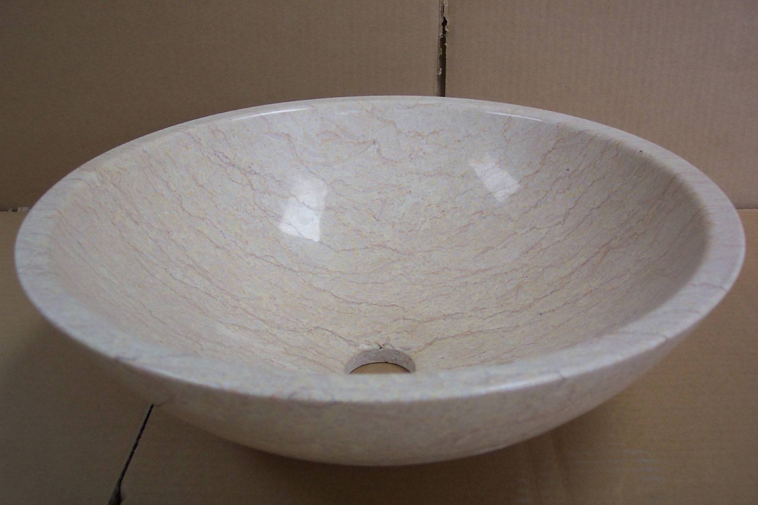Sunny Yellow Marble Sinks Polished Marble Sinks for Export