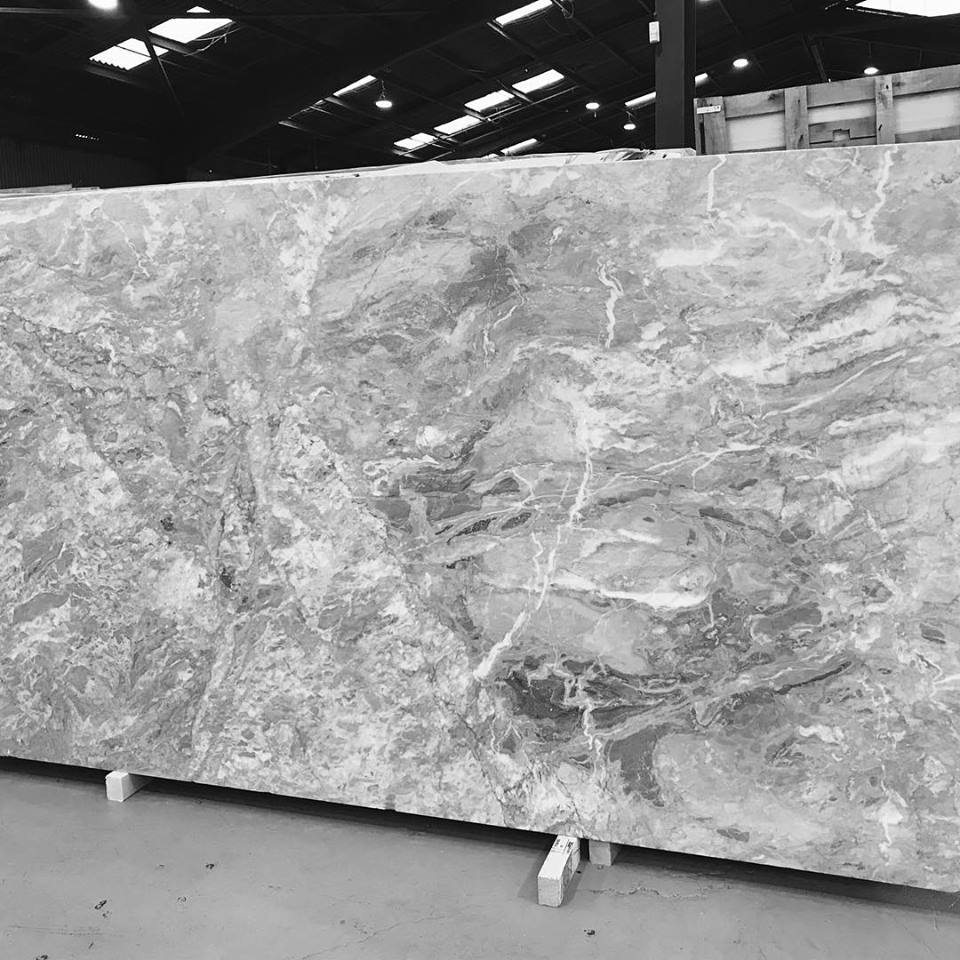 Super White Marble Polished Marble Slabs