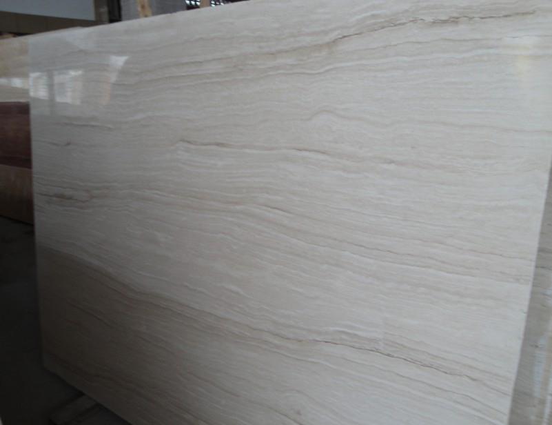 Super White Polished Travertine Slabs
