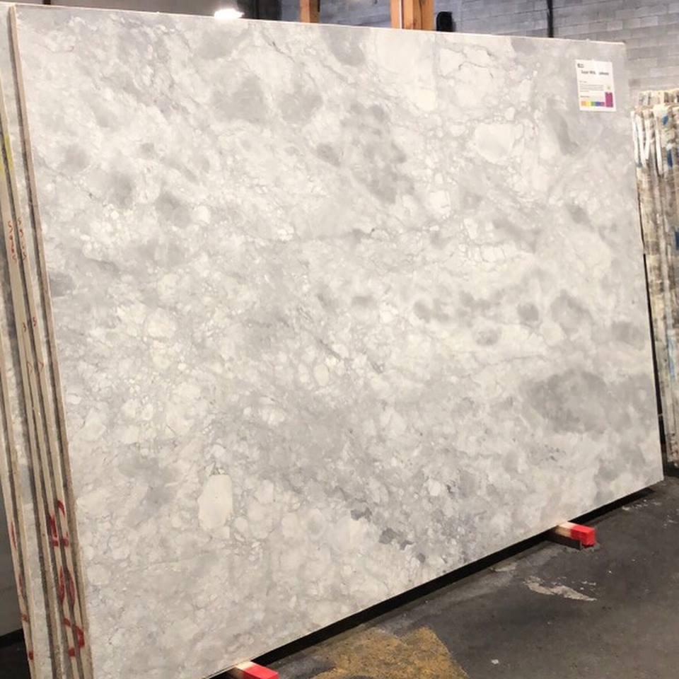 Super White Quartzite Polished Slabs