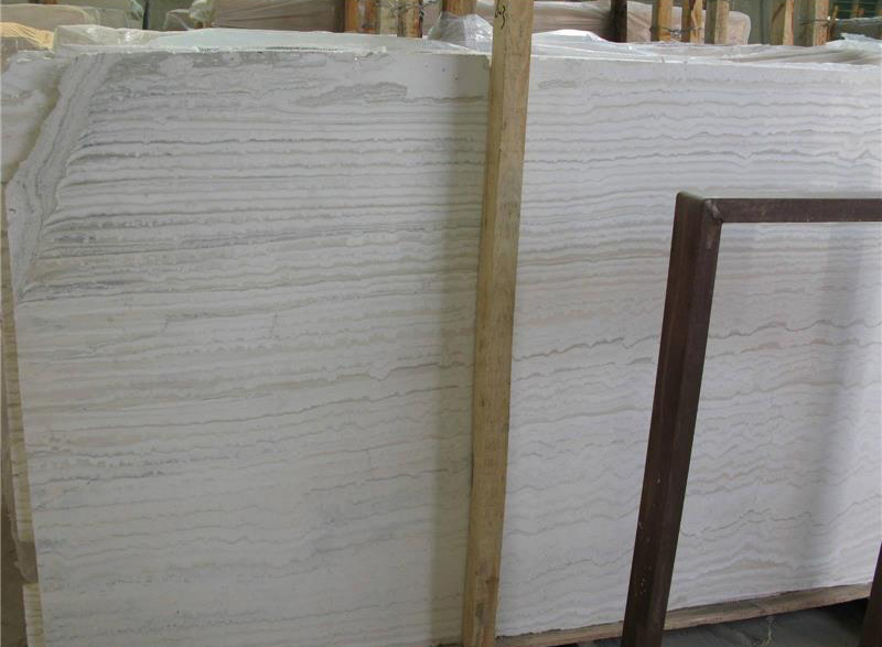 Super White Travertine Slabs Polished Travertine Slabs
